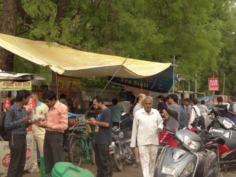Street Food Stalls:  A distinct characteristic of Ahmedabad