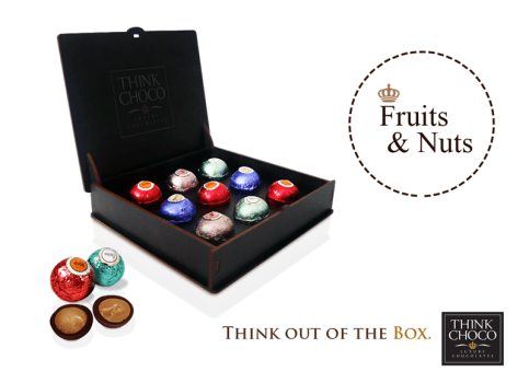Think Choco fruit and nuts truffles