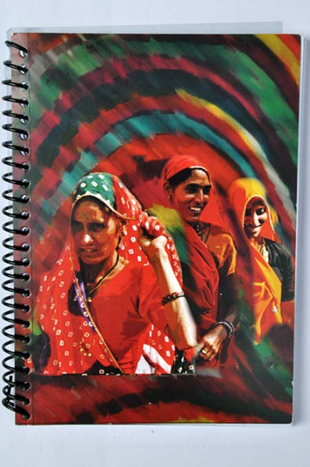 Very Indian | Women from Rajasthan on Notebooks