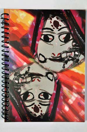 Very Indian | Puppets from Rajasthan on a Notebook