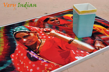 Very Indian | Indian Woman - Place Mat