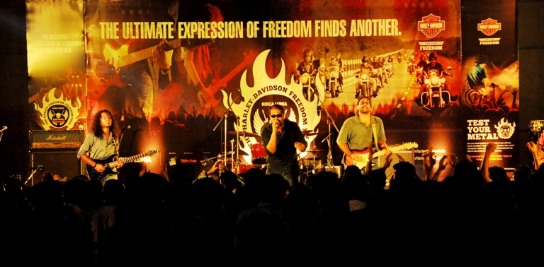 Record smashing performances by Blakc and Blek at the fourth edition of Harley - Davidson's annual music property in Ahmedabad