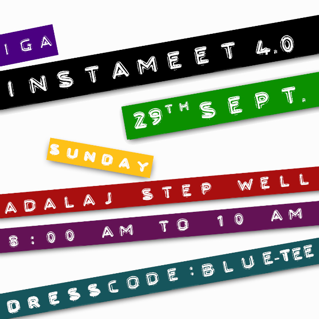 InstaMeet 4.0: Spend three hours snapping photos with other Amdavadi Instagrammers | Photo © IGA