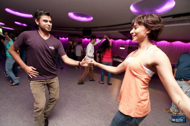 Salsa:  Once you learn the steps, you can dance anywhere!