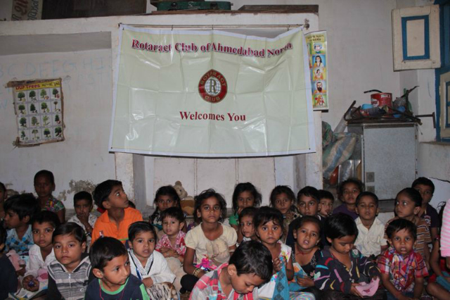 Children's Day Initiative by Rotaract Club of Ahmedabad North