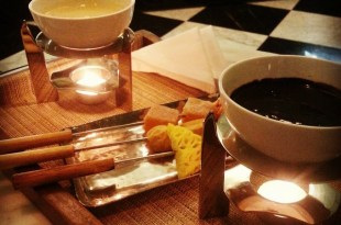An evening well spent at Chocolárt relishing the Chocolate Fondue