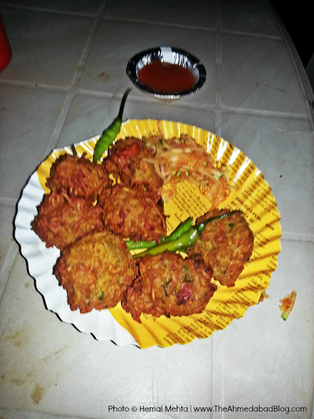 Maggi Bhajiya available at Maggi Bhajiya preparation at A1 Maggi Bhajiya Centre