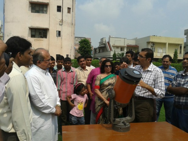 Vedhshala Ahmedabad: Understanding the impact of Sun Spots
