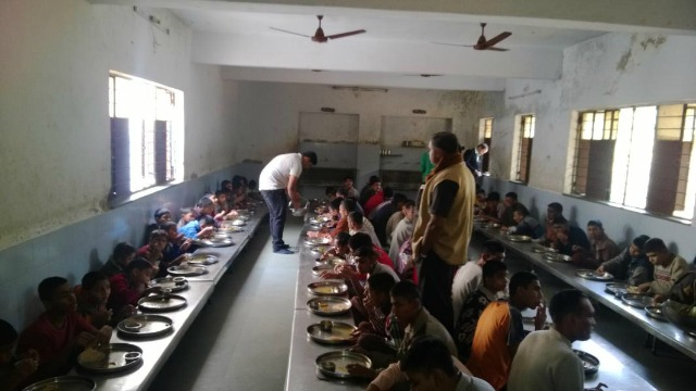 Christmas at Prakash School of Mentally Retarded in Ahmedabad
