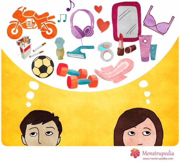 Menstrupedia is a fun guide to healthy periods, aiming at spreading awareness about menstruation and shatter myths around the subject.