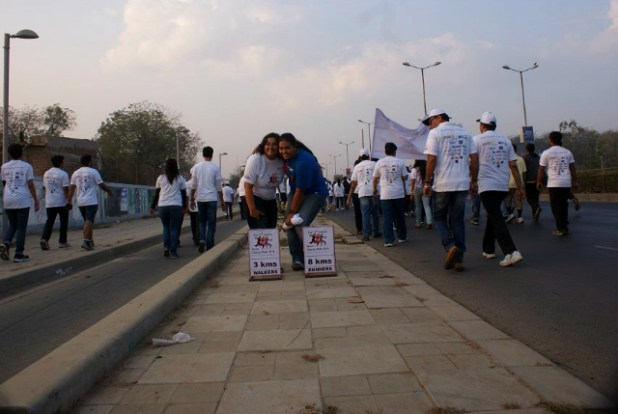 12th Motif Charity Walk on 16 February 2014 | Photo © N.Sathyanarayan