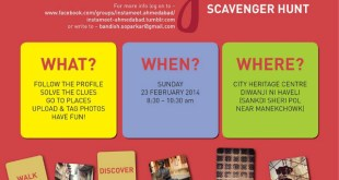 Instagram Scavenger Hunt in Ahmedabad