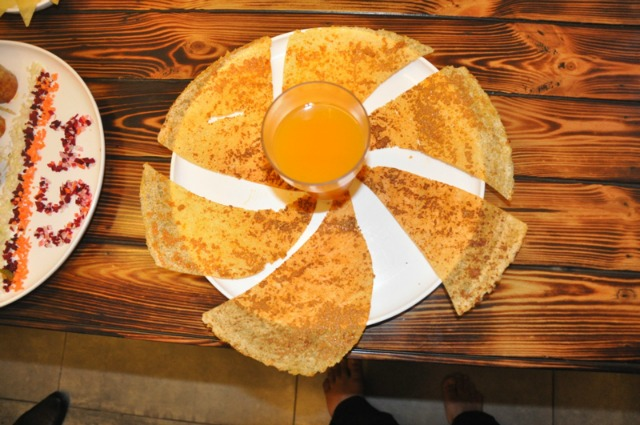 So South Ahmedabad: Dosai with  Cheese Dip