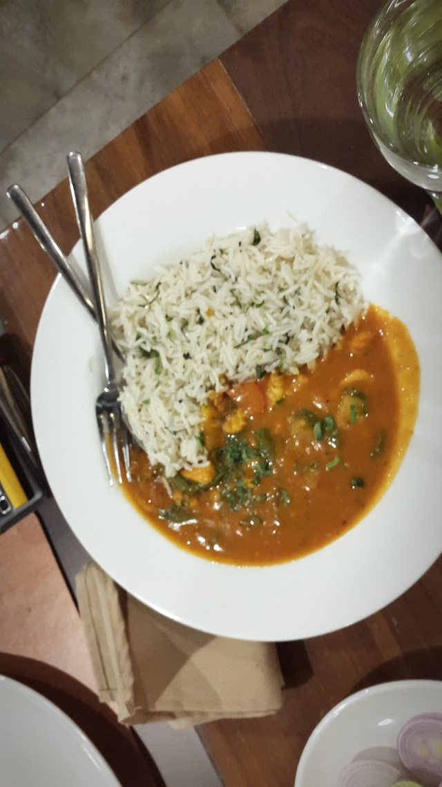 Main Course at 70 Degrees East Ahmedabad