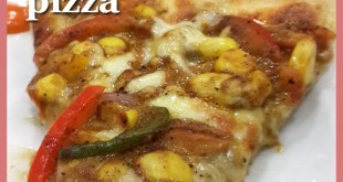 Nini's Kitchen in Ahmedabad: Sweet & Spicy Barbeque Pizza
