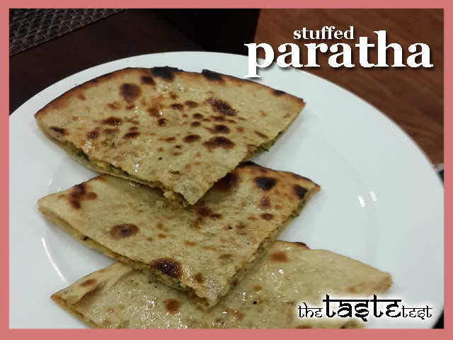 Nini's Kitchen in Ahmedabad: Stuffed Paratha