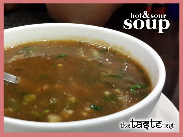 Nini's Kitchen in Ahmedabad: Hot & sour soup