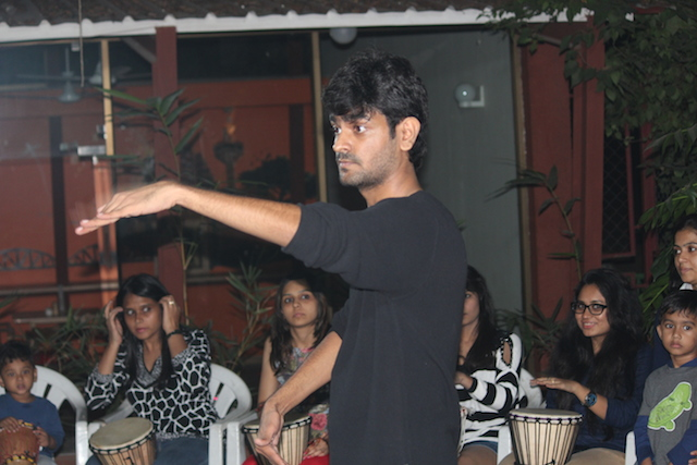 Rujul Voral - Founder The Drum Circle: bringing rhythm back into peoples' lives