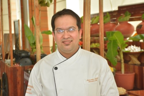 Executive Chef Aniruddha Limaye @ Andhra Food Festival at MoMo Cafe, Courtyard by Marriott, Ahmedabad