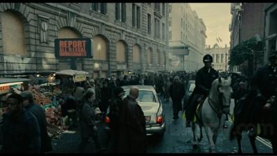 A scene from 'Children of Men' ( image taken from evilgeeks.com)