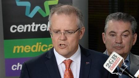 "Scott Morrison - ""a tougher welfare cop on the beat"" (image from dailytelegraoh.com.au)"