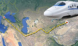 Proposed Silk Road infrastructure for Central Asia (World Bulletin 2014)