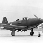 The P-39 was the principle American fighter when WWII broke out