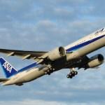 All Nippon Airways B777-300ER (Media credit/moonm via Wikimedia)