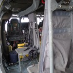 Interior view of an MH-60 aboard the USS Wasp during Boston Fleet Week 2012 (Air Cache Photo/John M. Guilfoil)