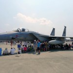 An F-15 from the 104th Fighter Wing out of Barnes Air National Guard Base seen in August 2012' at the Great New England Airshow at Westover Air Force Base. (Air Cache staff photo/John M. Guilfoil)