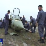 A photo posted in June 2012 showing a Q-5 that reportedly crash landed