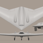 An artist's rentering of the RQ-170 (Media credit/Truthdowser via Wikipedia)