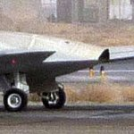 A photo that the New York Times published, showing the RQ-170
