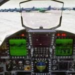 The F-15E cockpit