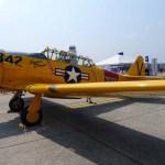 """An original T-6 """"Texan"""" trainer (Air Cache photo/John M. Guilfoil)"""
