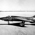 The first prototype Republic YF-105A
