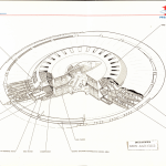 Figure 1 - Cutaway of the UFO-style flying saucer