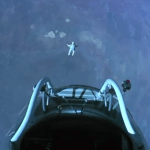Freefall at 0 - the beginning is like falling into a vaccuum