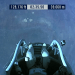 Jump at 2 hours 35 minutes 50 seconds 128,200 feet