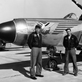 F-94 with pilot from the 178th FIS North Dakota Air National Guard