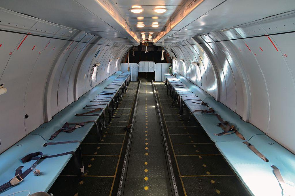 An-26 cargo cabin (Credit: Dmitry Belov)