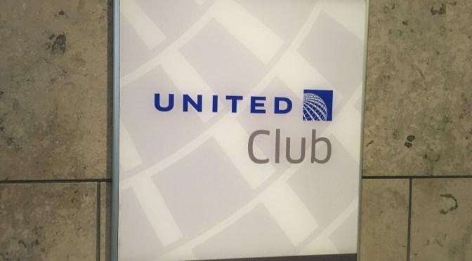 Review: United Domestic Club Lounge SFO