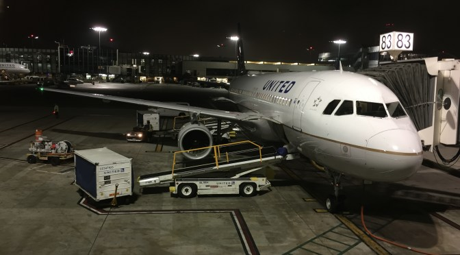 Review: United Airlines Economy Plus A320-200 San Francisco to Los Angeles