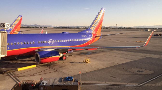 Review: Southwest Airlines 737-700 Economy Las Vegas to Los Angeles