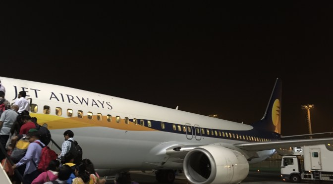 Review: Jet Airways Economy 737-800W Abu Dhabi to Pune
