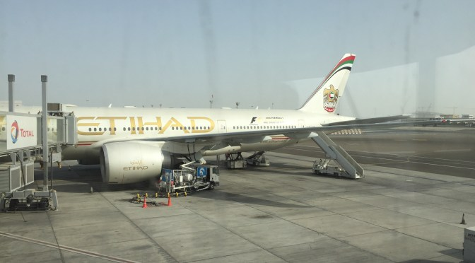 Review: Etihad Airways Economy 777-200LR Abu Dhabi to Los Angeles