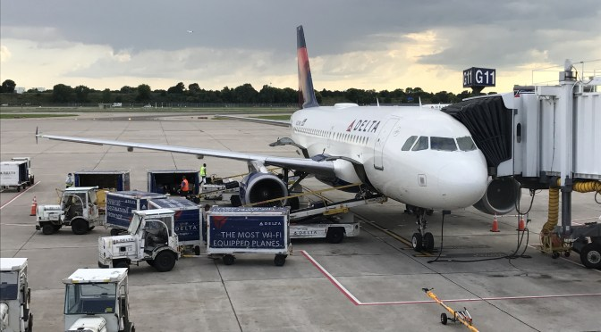 Review: Delta Air Lines A319-100 First Class Minneapolis to Santa Ana