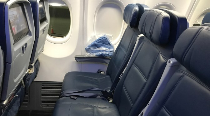 Review: Delta Airlines 737-900ER Main Cabin Seattle to Detroit