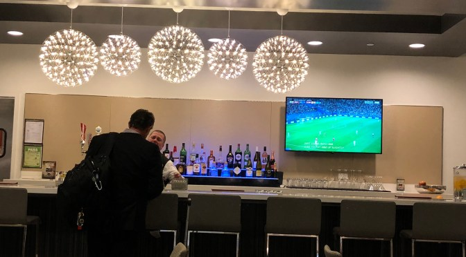 Review: United Club Lounge Mezzanine Level SFO