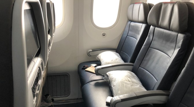 Review: American Airlines 787-9 Main Cabin Extra Sydney to Los Angeles